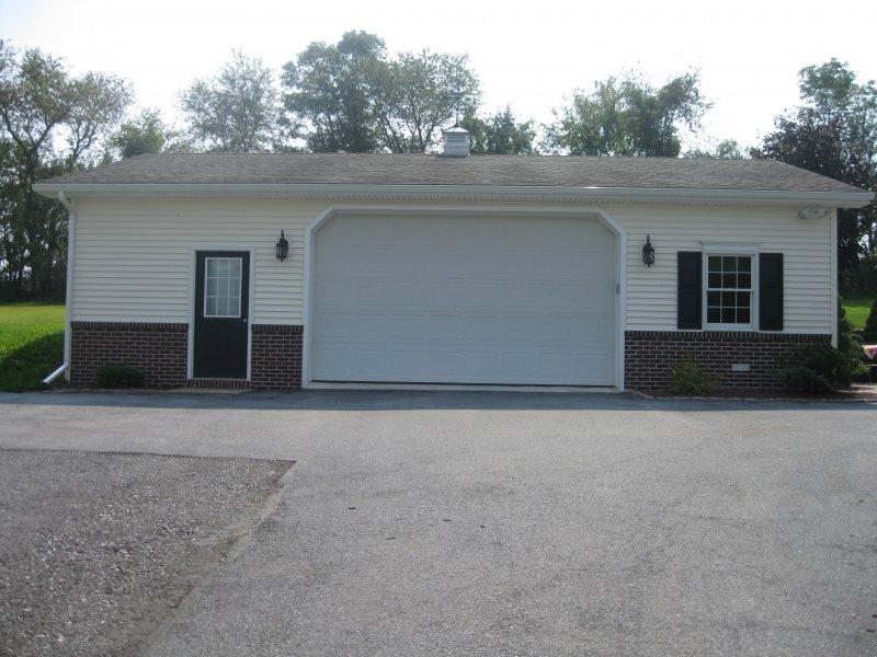 24' x 40' x 10' garage