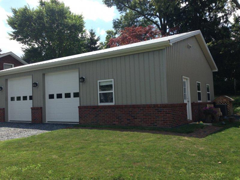 30' x 40' x 13' garage