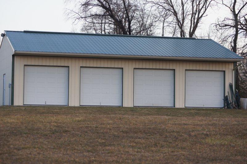 30' x 60' x 10' garage
