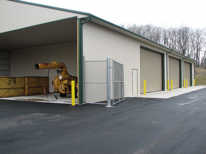 50' x 120' compost maintenance facility