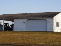 24' x 32' x 9' Garage with a 10' Porch