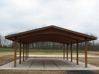 24' x 44' glu lam pavilion