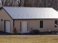24' x 32' x 8' garage