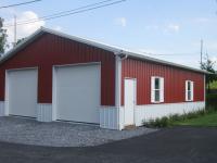 30' x 40' x 10' garage