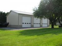 40' x 60' x 16' garage