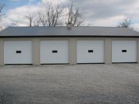 40' x 64' x 11' Garage