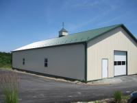 40' x 80' x 12' golf course maintenance building